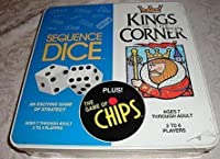 [jax games ltd]jax games ltd Kings in the Corner & Sequence Dice game & The Game of Chips Item # 6600 [並行輸入品]