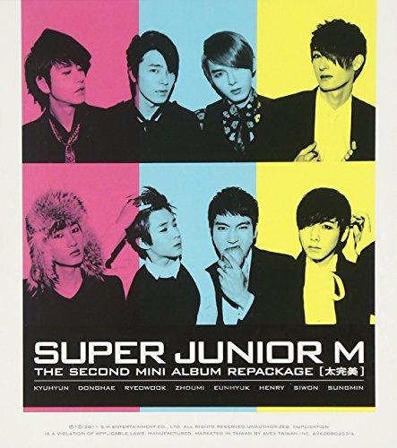 SUPER JUNIOR (スーパージュニア) M/太完美 CD+DVD(台湾輸入版)