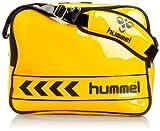 [ヒュンメル] hummel エナメルショルダーバッグL HFB3004 3090 (イエロー×ブラック)