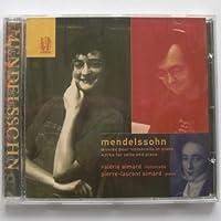 Mendelssohn:Oeuvres Pour Cello