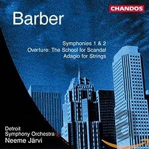 Barber: Symphonies NOS 1&2