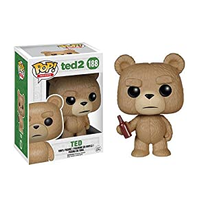 Funko Ted 2 Ted with Beer POP! Vinyl Figure ポップ 「テッド2」テッド ウィズ ビール フィギュア [並行輸入品]