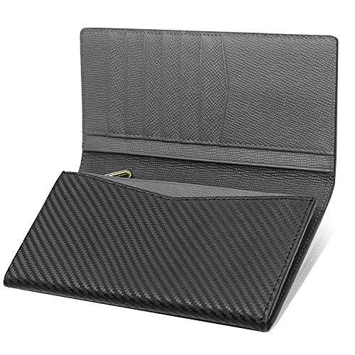 973d0084ecbd PEYNE 薄い 財布 メンズ 長財布 - 本革 紳士 薄型 二つ折り 札入れ,2