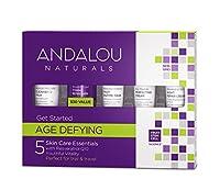 オーガニック ボタニカル トライアルキット 化粧水 洗顔料 ナチュラル フルーツ幹細胞 「 A トライアルキット 」 ANDALOU naturals アンダルー ナチュラルズ