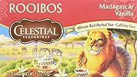 Celestial Seasonings 0829176 Red Tea Caffeine Free Madagascar Vanilla - 20 Tea Bags