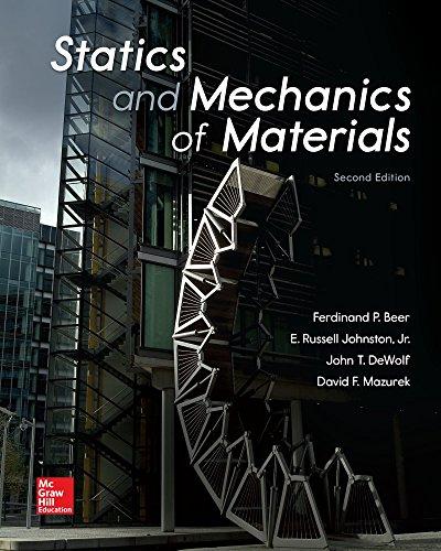 Download Statics and Mechanics of Materials 0073398160