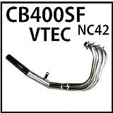 MADMAX(マッドマックス) HONDA CB400SF V-TEC REVO(NC42)用ショート管/マフラー メッキ(バイクパーツ) 08-0115-C