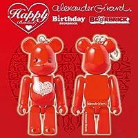 ハッピー ベアブリック インターナショナル ラブ ハート レッド(Happy BE@RBRICK INTERNATIONAL LOVE HEART RED)