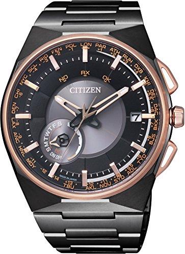 CITIZEN シチズン 腕時計 LIGHT in BLACK 限定 エコドライブ サテライト ウエ ーブ F100 衛星電波受信 CC2004-59E メンズ