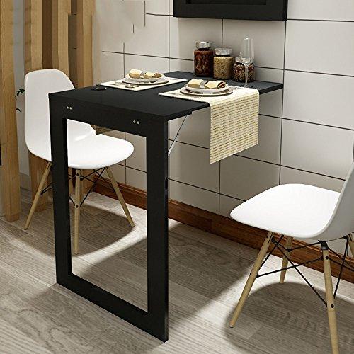 YNN ポータブルテーブル 落書きテーブル多機能折りたたみテーブルの壁の折り畳み式ダイニングテーブル