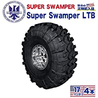 [INTERCO TIRE インターコタイヤ]タイヤ4本 super swamper スーパースワンパー LTB35x12.5/17LT ブラックレター バイアス