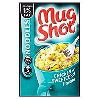 Mug Shot Noodles Chicken & Sweetcorn Flavour (54g) マグカップのショット麺鶏とスイートコーンの味( 54グラム)