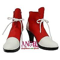 【サイズ選択可】男性26.5CM B1B00211 コスプレ靴 ブーツ 少女革命ウテナ 天上ウテナ
