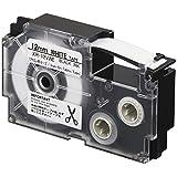 カシオ ラベルライター ネームランド アイロン布テープ 12mm XR-12VWE 白