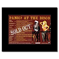 PANIC AT THE DISCO - UK Tour 2006 Mini Poster - 21x13.5cm