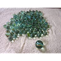 JMK 100 pcs Glass Marbles with Shooter by JMK