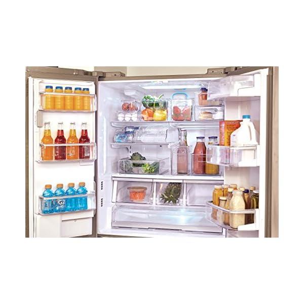 InterDesign 冷蔵庫用 卵入れ エッ...の紹介画像8