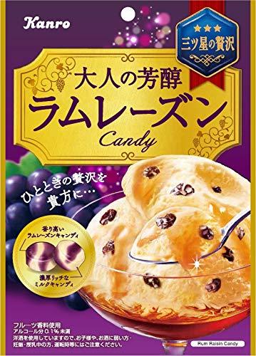 大人の芳醇 ラムレーズンキャンディ 6袋