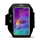Armpocket Mega i-40 armband for iPhone 6s/6 Plus, Galaxy S7, Note 5 or other phones and cases up to