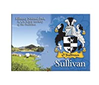 Sullivan Clan Metallic Picture Fridge Magnet