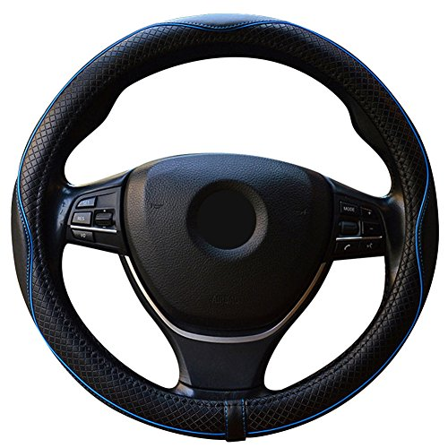 ZATOOTOハンドルカバー 軽自動車 sサイズ 本革 ステアリングカバー 高級感 LY98-HL