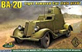 ACE 1 : 48 ba-20 Light Armored Car Late Prodプラスチックモデルキット# 48109