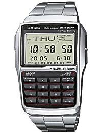 [カシオ]CASIO 腕時計 データバンク 海外モデルDBC32D-1ADF ブラック×シルバー[逆輸入]