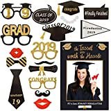 卒業写真ブース小道具 2019 素晴らしい卒業式デコレーション パーティー用品 Lサイズ