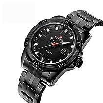 BINZI 腕時計 シンプル 新しい古典定義 アナログウォッチ 日常生活防水 NV-9079(ホワイト)メンズ