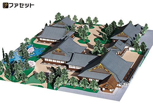 国宝 二条城 二の丸御殿 1/300 ペーパークラフト