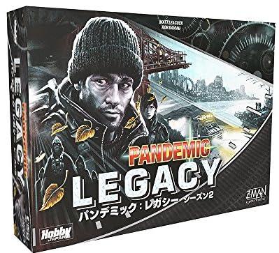 パンデミック:レガシー シーズン2(黒箱) (Pandemic: Legacy) 日本語版 ボードゲーム