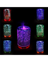 Fishagelo Color Changing 3D Lighting Essential Oil Aroma Diffuser Ultrasonic Mist Humidifier Aromatherapy 141[...