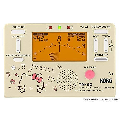 KORG コンボ チューナー メトロノーム TM-60 ハローキティ [TM-60-SKT Hello Kitty]