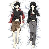 きさらぎ しんたろ カスタム 抱き枕カバー 両面プリント 2WAYトリコット アニメ 漫画 150x50cm