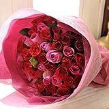 NEW バラ50本の花束 ミックス(レッド&ピンク)