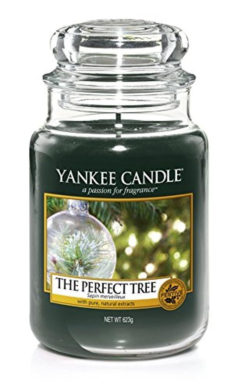 壮大な雑種温度Yankee Candle The PerfectツリーLarge Jar 22oz