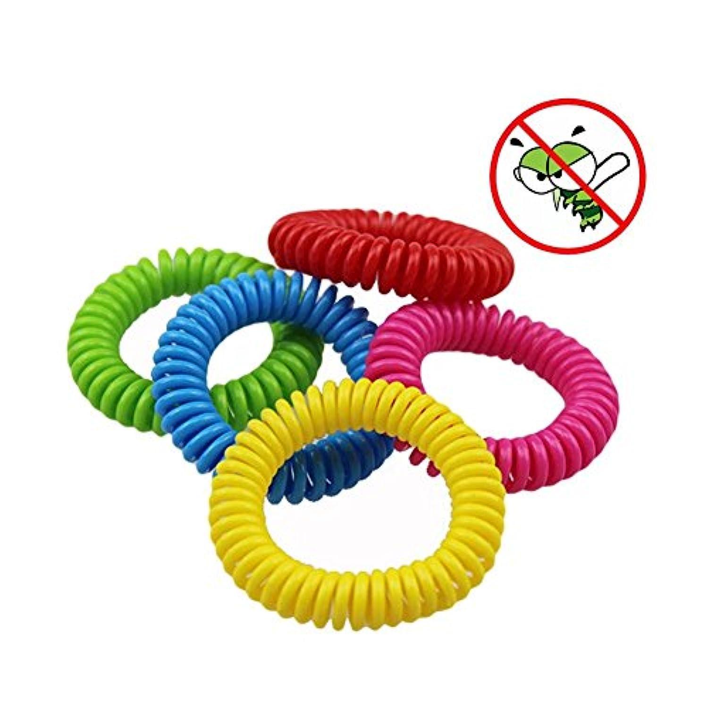 虫よけブレス 虫除け 蚊除け 10個セット ヘアバンド 赤ちゃん 安全安心