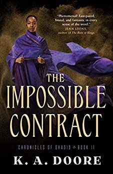 The Impossible Contract: Book 2 in the Chronicles of Ghadid by [Doore, K. A.]