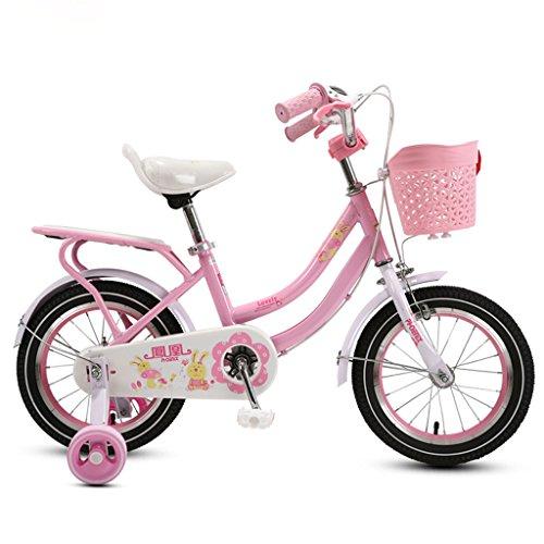 子供の自転車の女の子三輪車3-5-9歳のベビーカーの14/1...