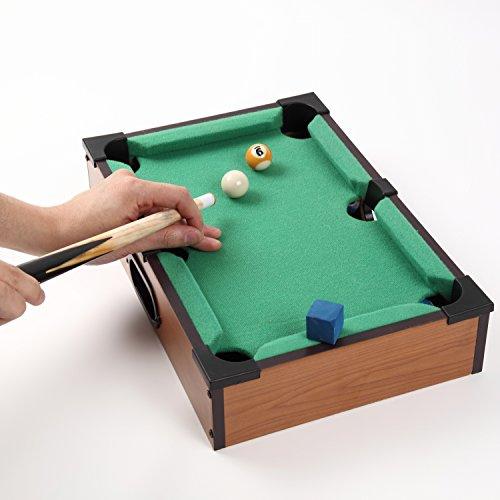 ビリヤードゲーム ミニチュアテーブルゲーム 卓上で遊べる 組...