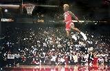 ジョーダン Michael Jordan Poster Slam Dunk Contest (88cm x 59,5cm)