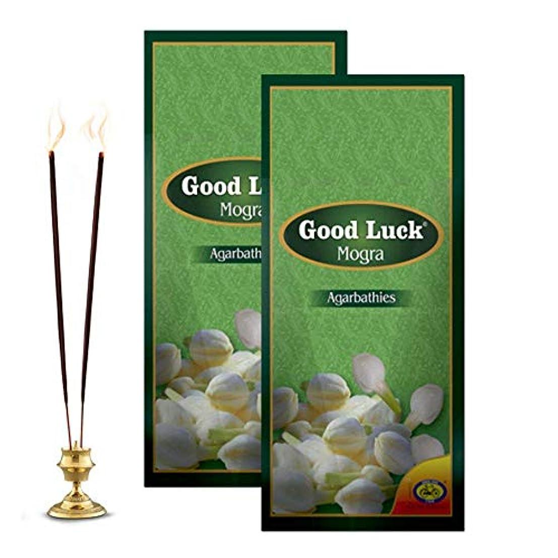 テザーはさみ麦芽Cycle Pure Good Luck Mogra Incense Sticks - Pack of 2