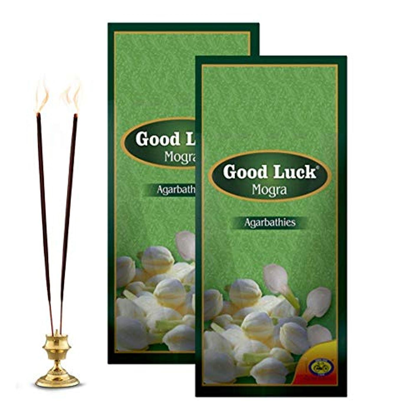 太い社会レポートを書くCycle Pure Good Luck Mogra Incense Sticks - Pack of 2