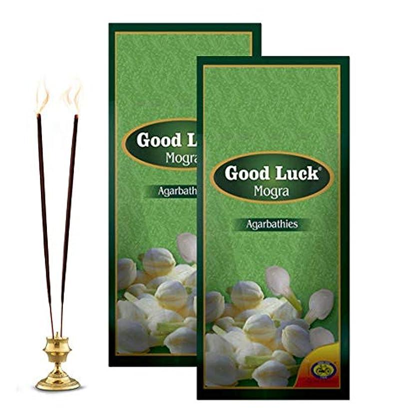 議論する飛ぶ異なるCycle Pure Good Luck Mogra Incense Sticks - Pack of 2