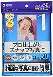 サンワサプライ インクジェット写真印画紙・特厚 JP-EP2N2L