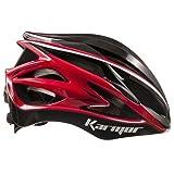 Karmar(カーマー) ヘルメット ASMA2(アスマ2) ブラック/レッド ヘルメットL R2KA150324X 59-60cm