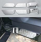 Oparクロームシルバードアインテリアアクセント2007 - 2010 Jeep JKラングラーアンリミテッド4ドア