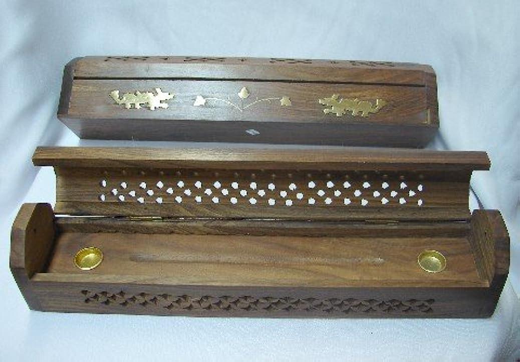 純正エンジニアリング不定Wooden Incense Burner