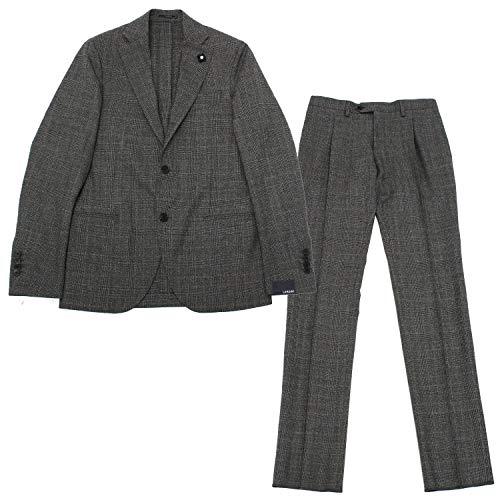 (ラルディーニ)LARDINI SPECIAL L ウールスーツ【グレンプレイド】IG436AV IGRP51499 4 [並行輸入品]