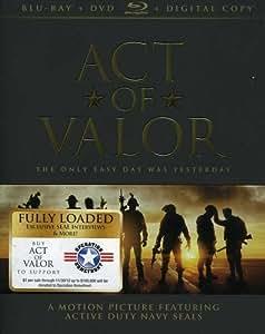 Act of Valor/ネイビーシールズ DVD+Blu-Ray[日本語字幕無][リージョンA]